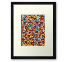 Goodness On Repeat Framed Print