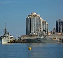 By The Sea - Halifax, Nova Scotia  by Darlene Ruhs