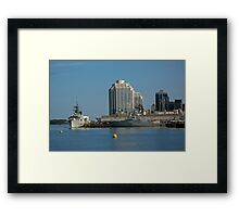 By The Sea - Halifax, Nova Scotia  Framed Print