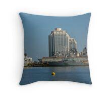By The Sea - Halifax, Nova Scotia  Throw Pillow