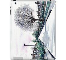 Quiet Road in Autumn, Watercolour Painting iPad Case/Skin