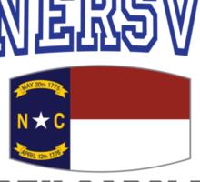 Kernersville North Carolina State Flag Sticker