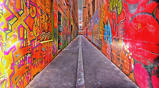 Union Lane by Graham Lea