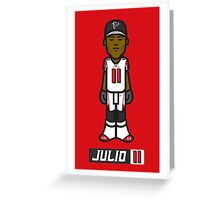 Julio Jones Greeting Card