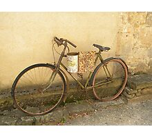 Antique Bicycle  Photographic Print