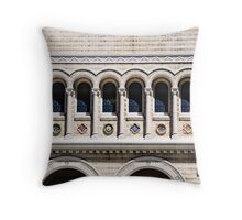 San Francisco Windows Throw Pillow