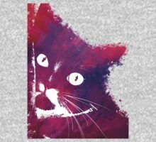Purple cat Kids Tee