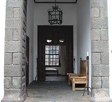 Lanzarote Door by Allen Lucas