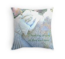 Deepest Sympathy Throw Pillow