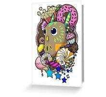 Viva Pinata - Hootyfruity Collage! Greeting Card