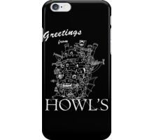 Greetings from Howl's iPhone Case/Skin