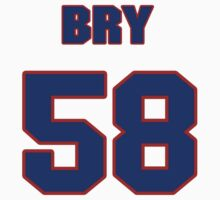 National baseball player Bry Nelson jersey 58 T-Shirt