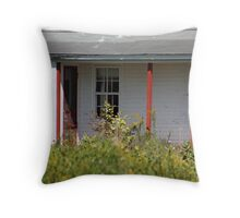 In The Past Throw Pillow