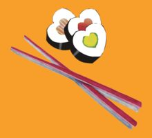 I heart Sushi by 24hrArtyPeople