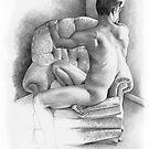 Whatever - recline III by David J. Vanderpool