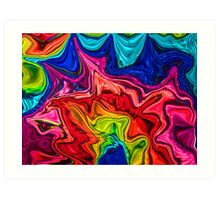 Funky Abstract Art Print