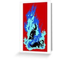 Self-Immolation Greeting Card
