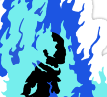 Self-Immolation Sticker