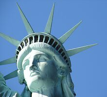 Statue Of Liberty by Shirley Allmon