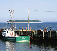 Wharf Fishing by HALIFAXPHOTO