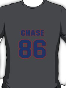 National football player Chase Coffman jersey 86 T-Shirt