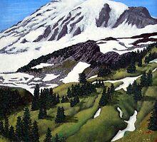 Mount Rainier by fbkohli