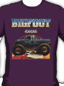Big Foot 4x4x4 T-Shirt