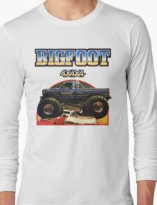 Big Foot 4x4x4 Long Sleeve T-Shirt