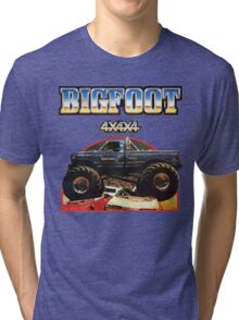 Big Foot 4x4x4 Tri-blend T-Shirt