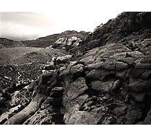 Calico Hillscape Photographic Print