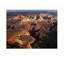 Grand Canyon Vista No. 11 Art Print