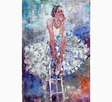 Ballet Dancer on the Stool Unisex T-Shirt