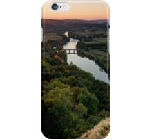 Sunset over the Dordogne iPhone Case/Skin