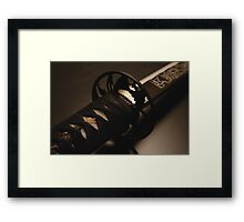 Katana Framed Print