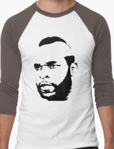 Mr. T T-Shirt Men's Baseball ¾ T-Shirt