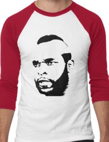 Mr. T T-Shirt Men's Baseball ¾ T-Shirt