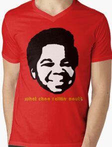 Gary Coleman Mens V-Neck T-Shirt