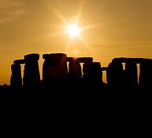 Stonehenge Sunset by Stuart Howard