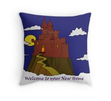 Welcome to Your New Home Throw Pillow