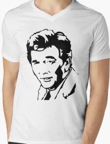 Peter Falk Columbo Mens V-Neck T-Shirt
