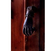 Knocker Photographic Print