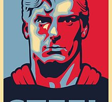 Superman, Man of Steel by ChicoDesigns