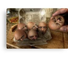 Eggsecution - The Prequel Canvas Print