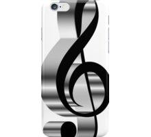 grey  clef  iPhone Case/Skin