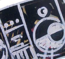 Boombox (graffiti) Sticker