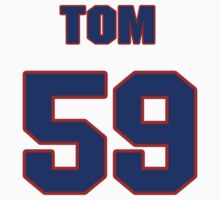 National baseball player Tom Brennan jersey 59 by imsport