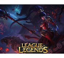 LEAGUE OF LEGENDS NIDALEE Photographic Print
