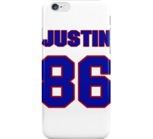 National football player Justin Armour jersey 86 iPhone Case/Skin