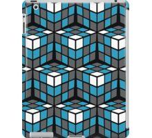 cascade - grey/blue/white iPad Case/Skin