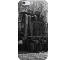 Cotton Picker retired for the season iPhone Case/Skin